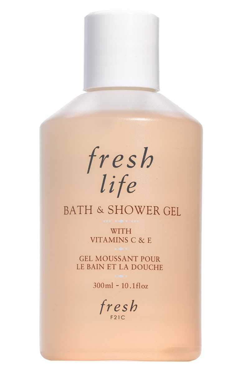 FRESH<SUP>®</SUP> Life Bath & Shower Gel, Main, color, NO COLOR