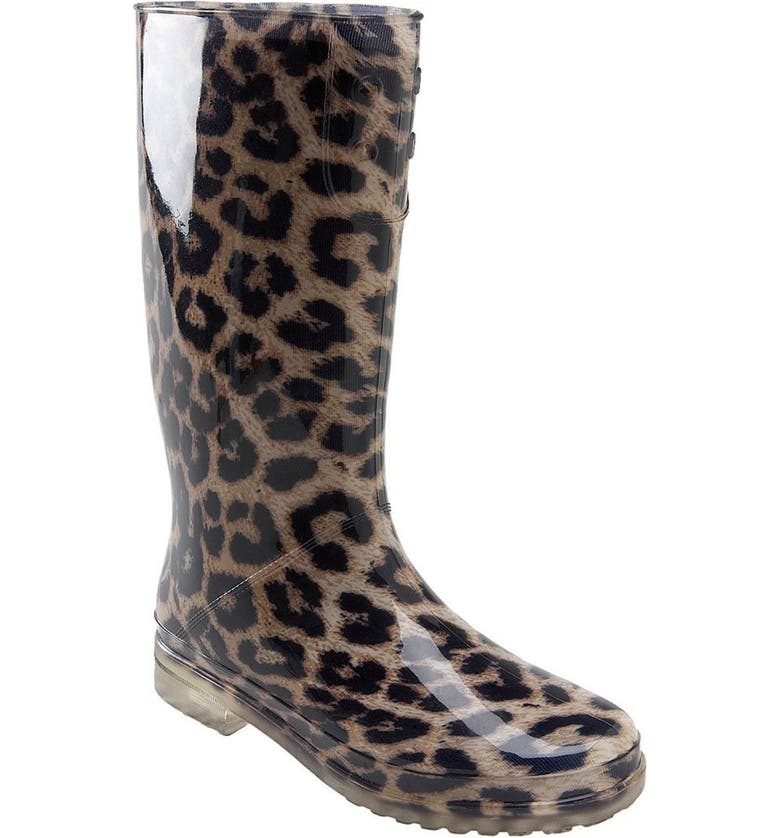 STUART WEITZMAN 'Puddles' Rain Boot, Main, color, 981