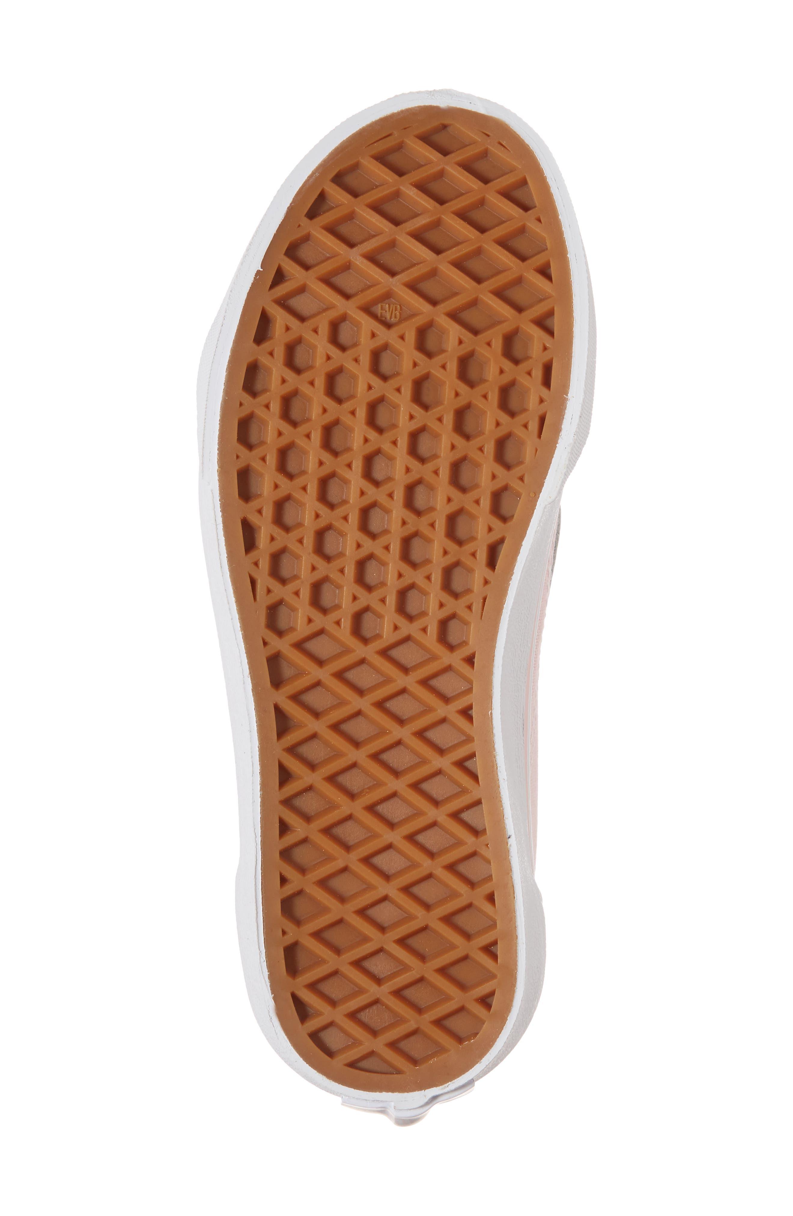 ,                             Old Skool Sneaker,                             Alternate thumbnail 6, color,                             CHALK PINK/ TRUE WHITE