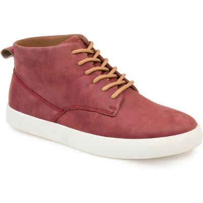 Thomas & Vine Damon Chukka Sneaker- Red