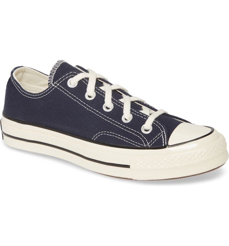 CONVERSE Chuck Taylor<sup>®</sup> All Star<sup>®</sup> 70 Always On Low Top Sneaker, Main, color, OBSIDIAN/ EGRET/ BLACK