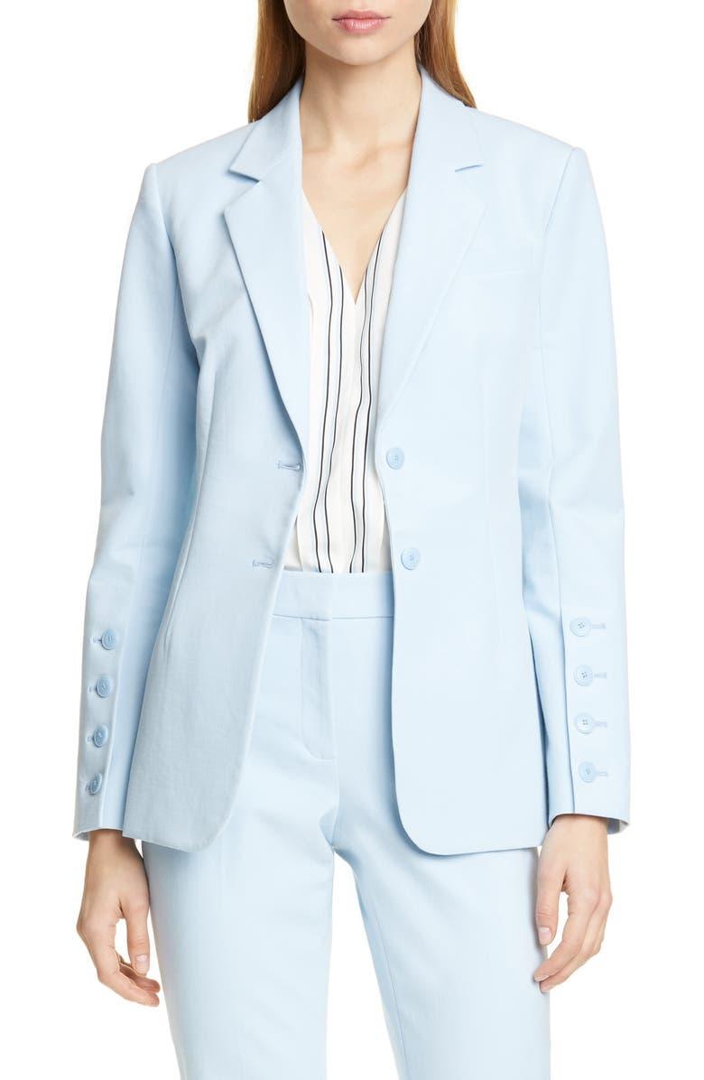 LEWIT Blazer, Main, color, BLUE FALLS