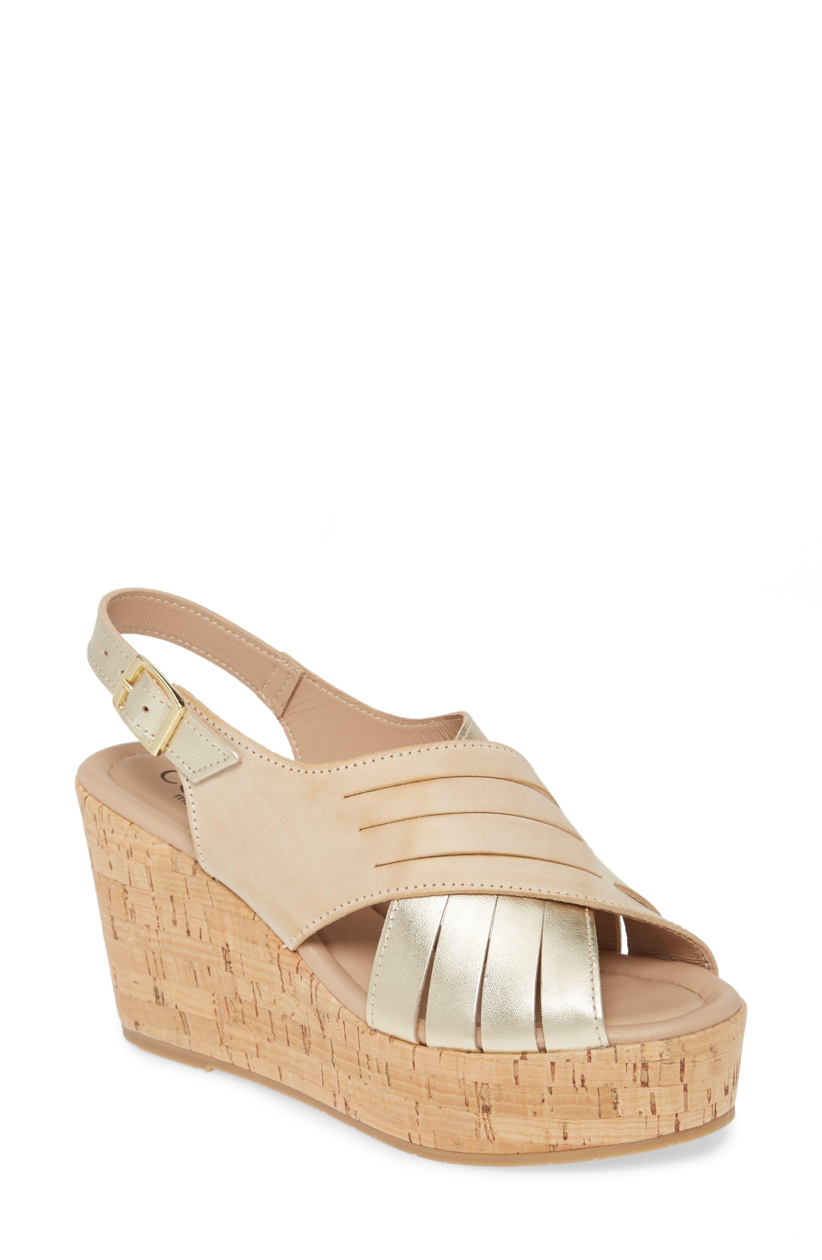 Julia Slingback Wedge Sandal