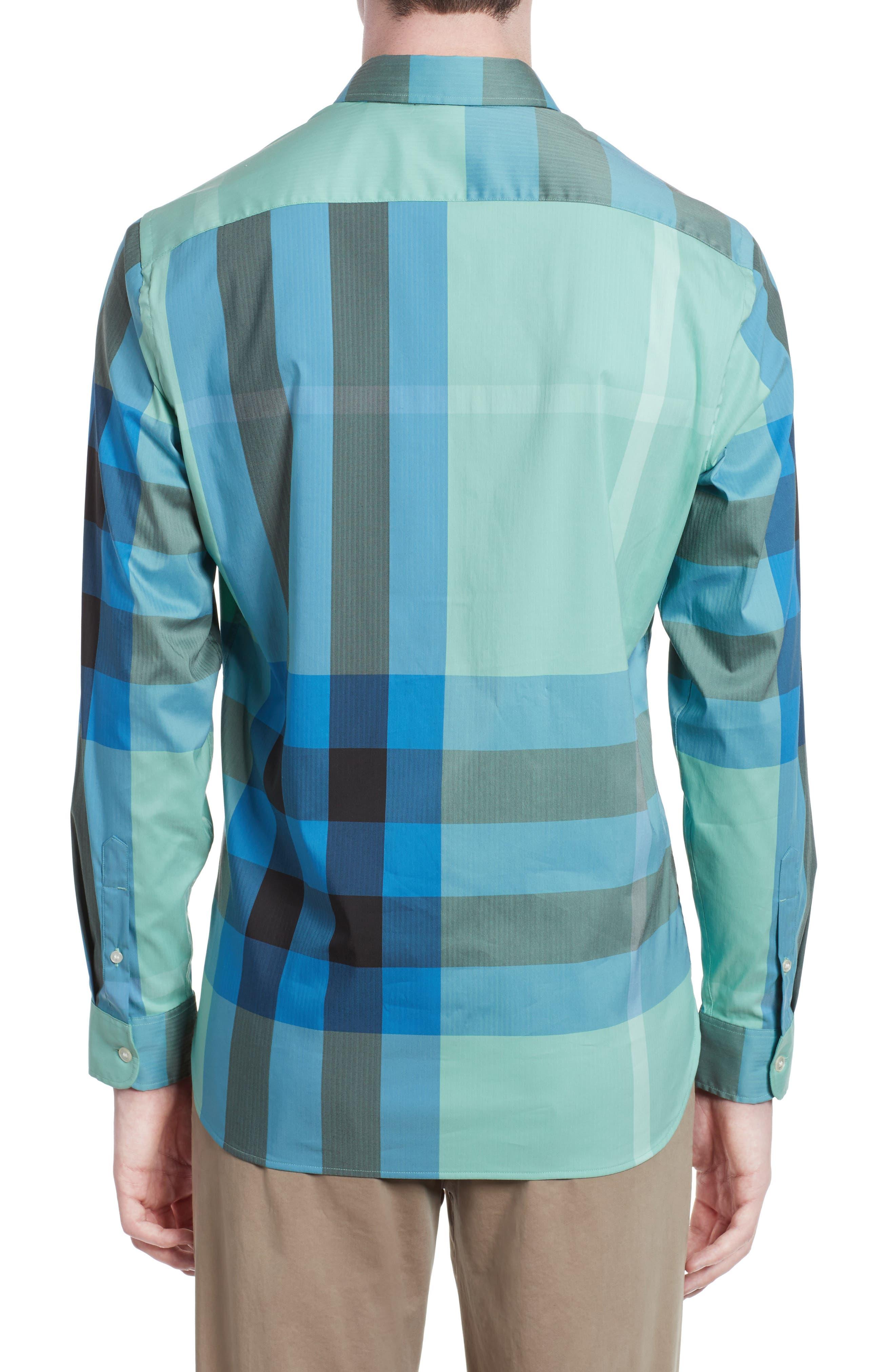 ,                             Thornaby Slim Fit Plaid Sport Shirt,                             Alternate thumbnail 36, color,                             453