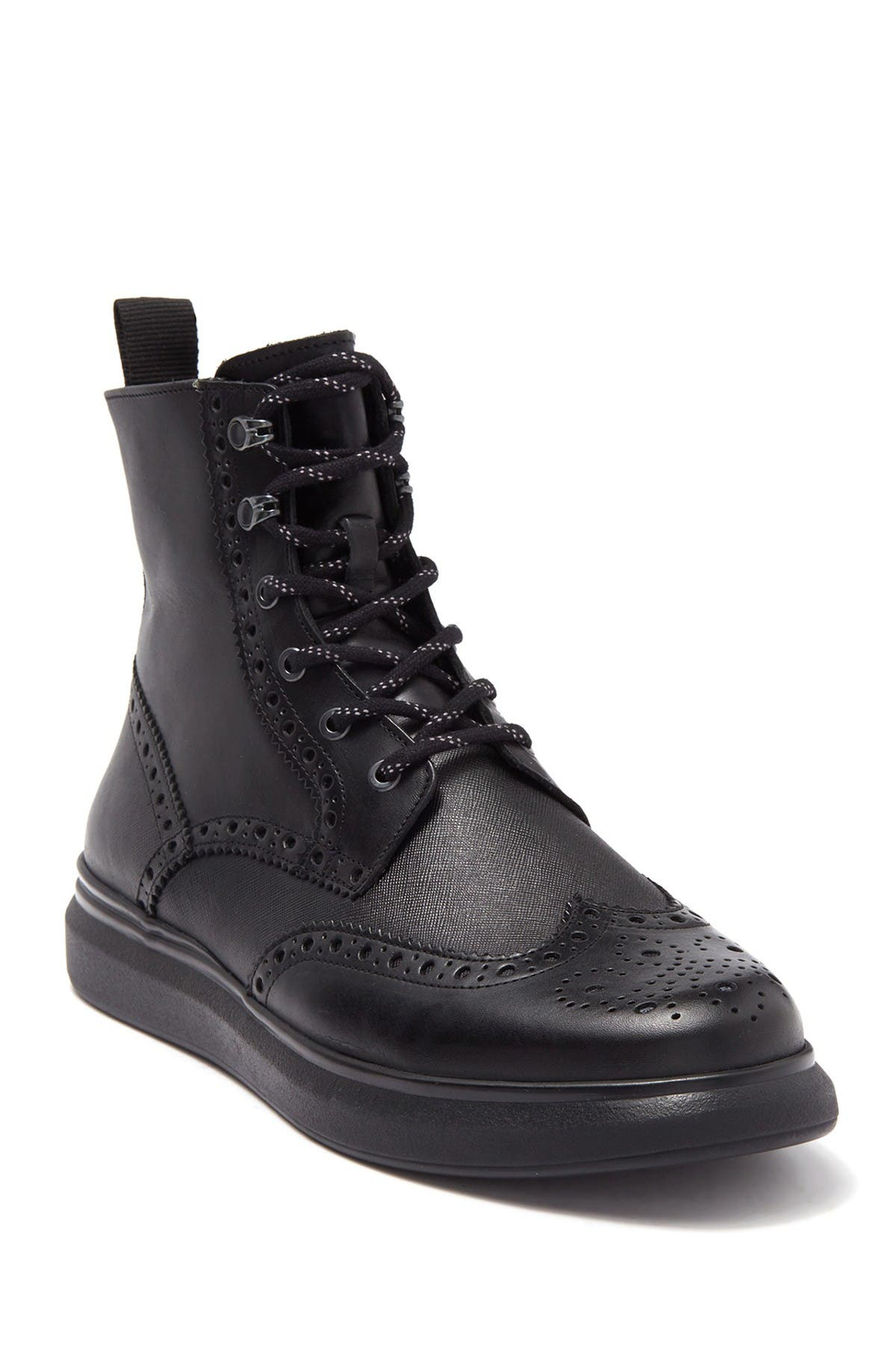 Image of Karl Lagerfeld Paris Wingtip Lace-Up Boot