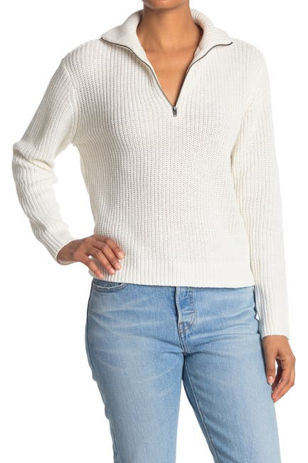 Image of Cloth By Design Half Zip Recycled Pullover