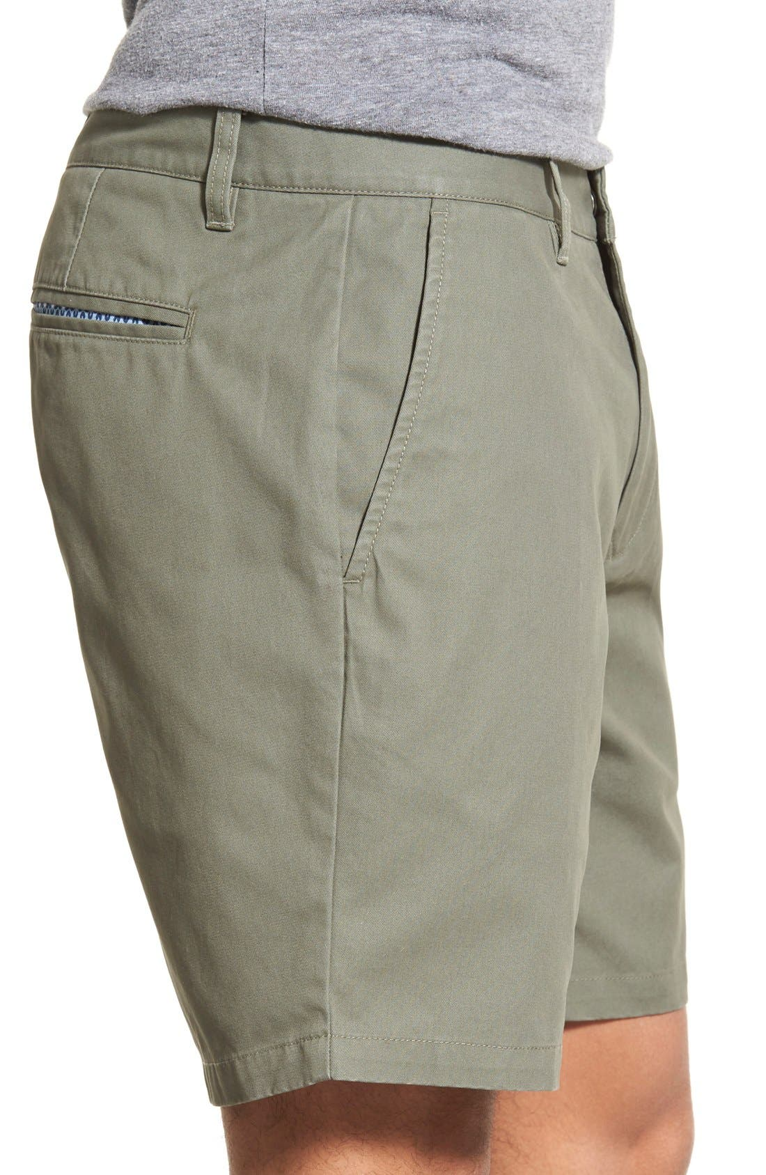 ,                             Washed Chino Shorts,                             Alternate thumbnail 46, color,                             305