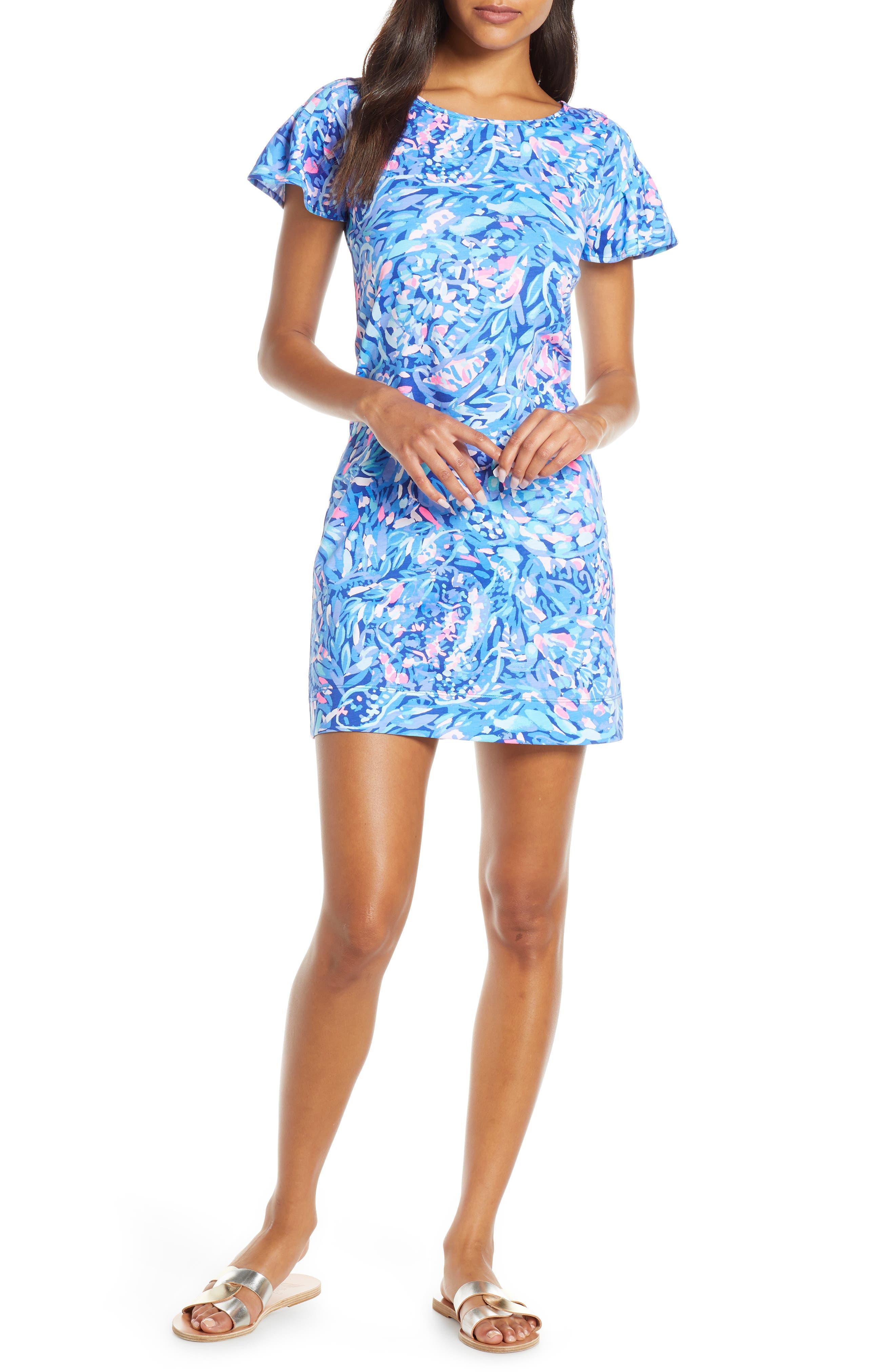Lilly Pulitzer Marah Shift Dress, Blue