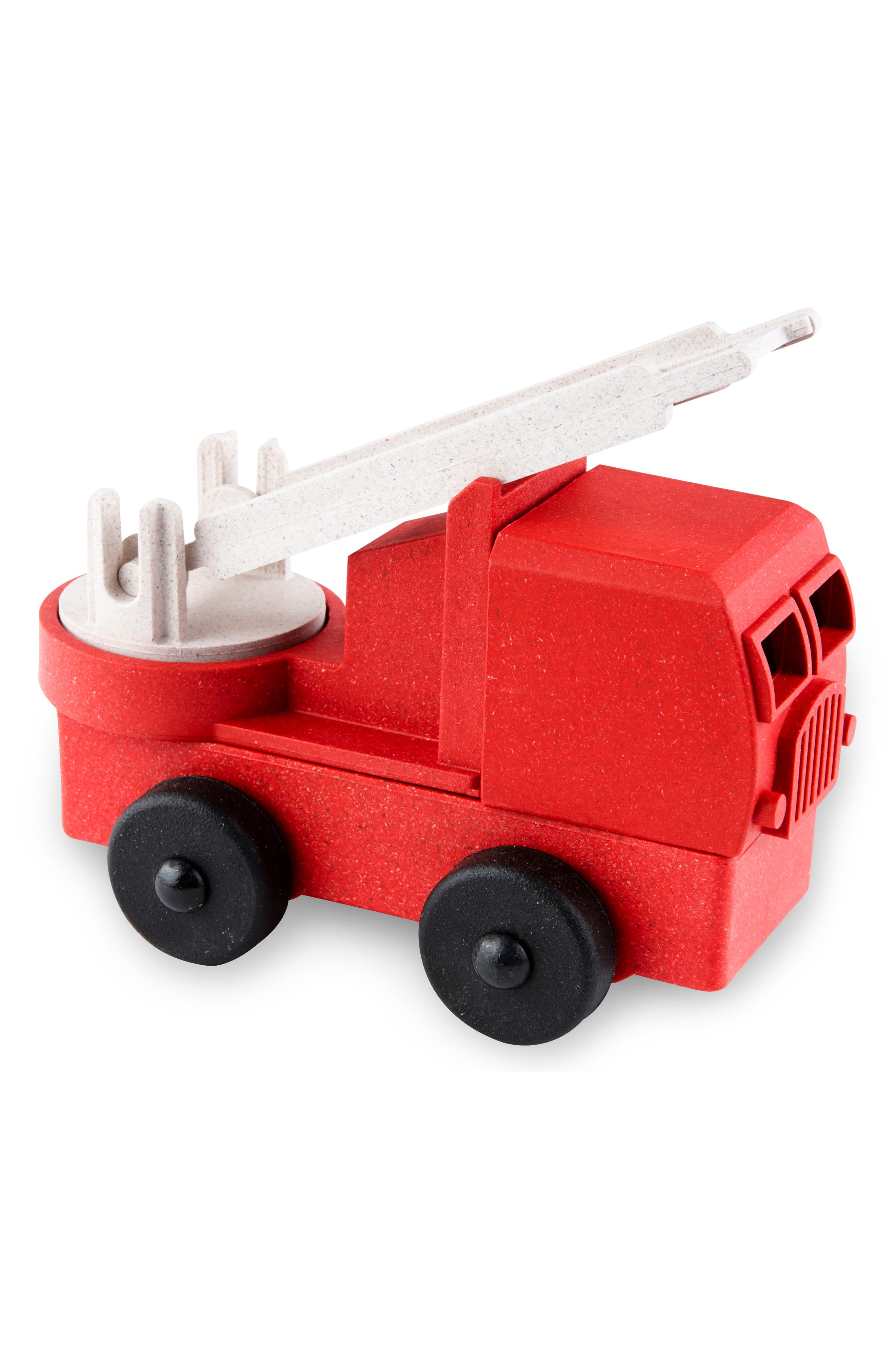 Lukes Toy Factory Educational 5Piece Puzzle Fire Truck Toy