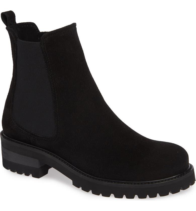 LA CANADIENNE Connor Waterproof Boot, Main, color, BLACK SUEDE