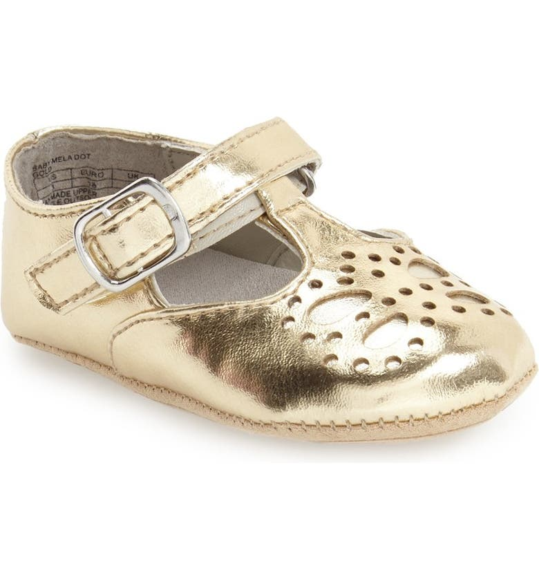 KENNETH COLE NEW YORK 'Mela' Metallic Crib Shoe, Main, color, 710