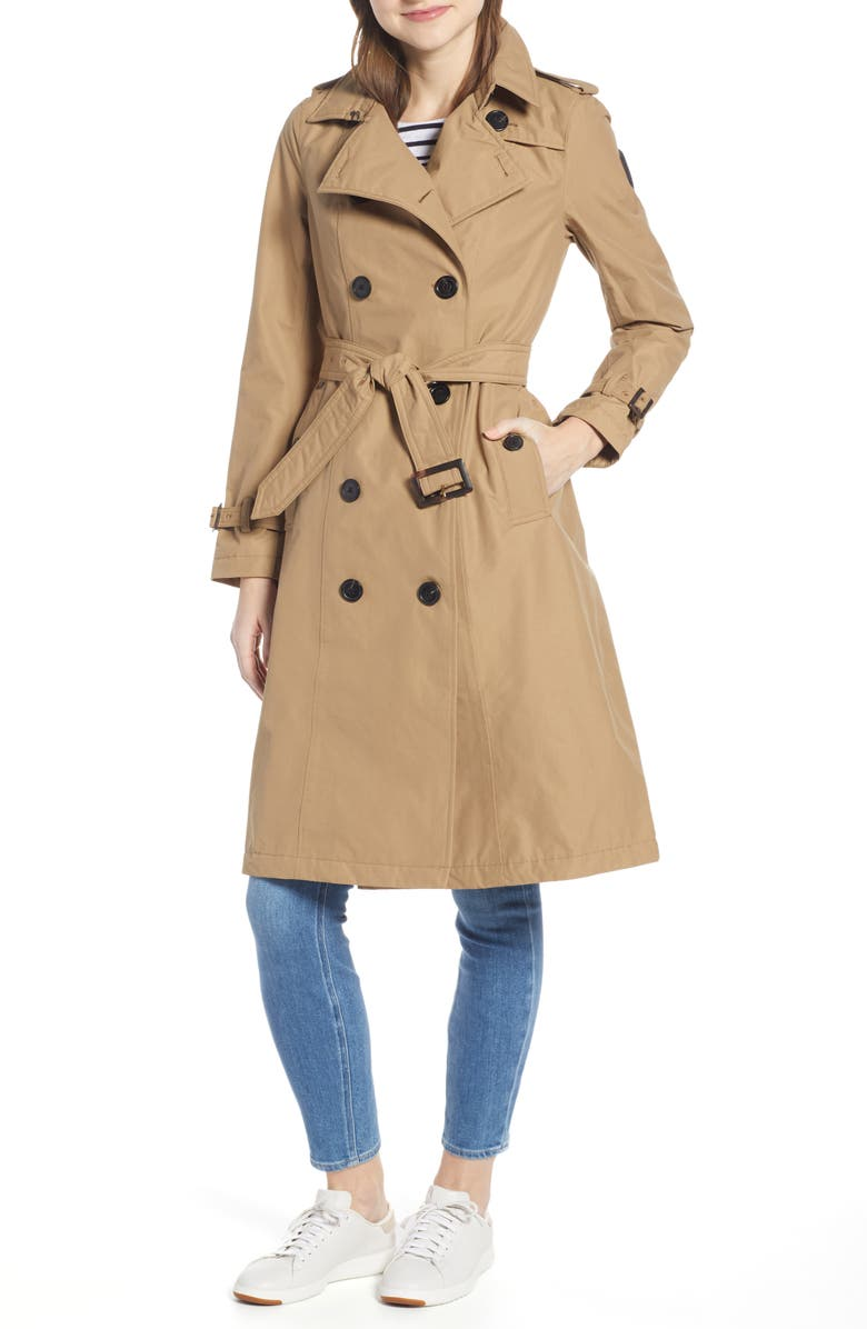 NOBIS Poppy Waterproof Trench Coat, Main, color, 251