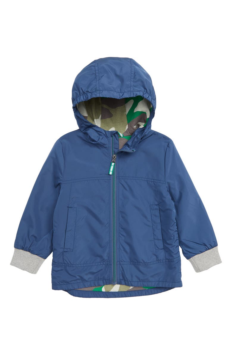 MINI BODEN Water Resistant Jacket, Main, color, 424