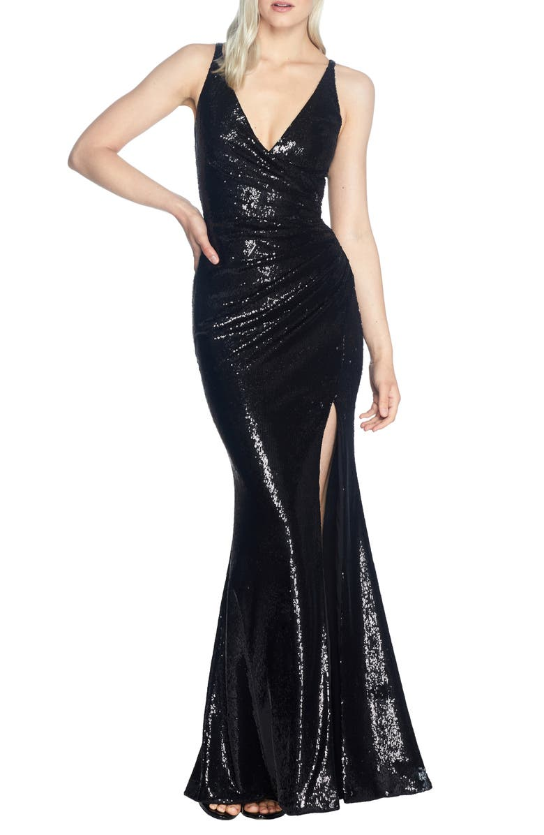 Jordan Ruched Mermaid Gown