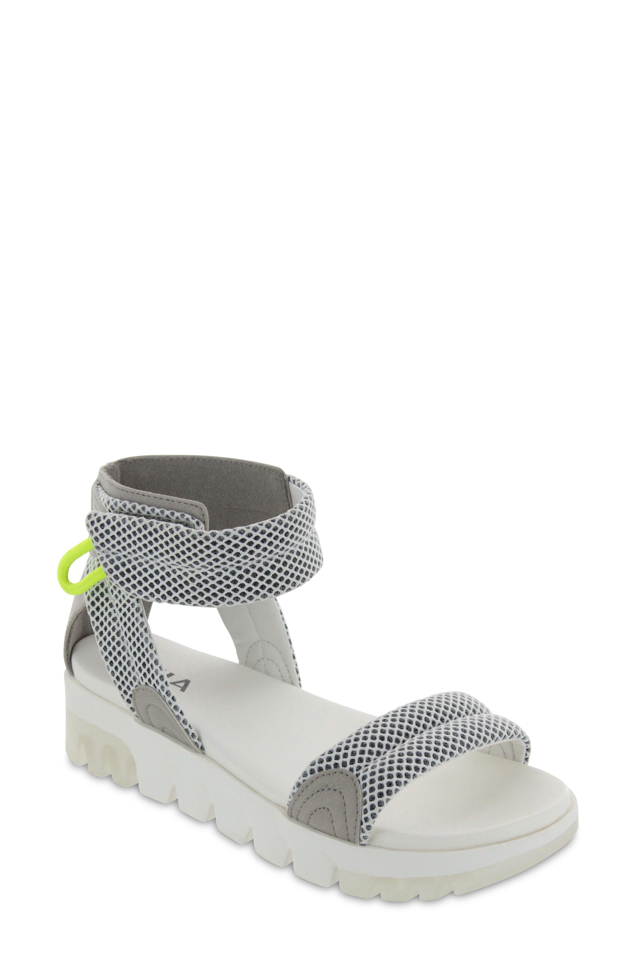 Riki Ankle Strap Platform Sandal