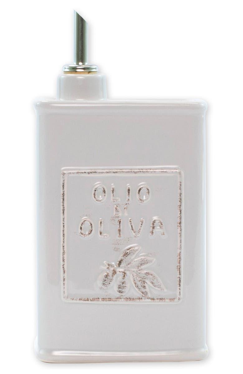 VIETRI Lastra Stoneware Olive Oil Container, Main, color, 050