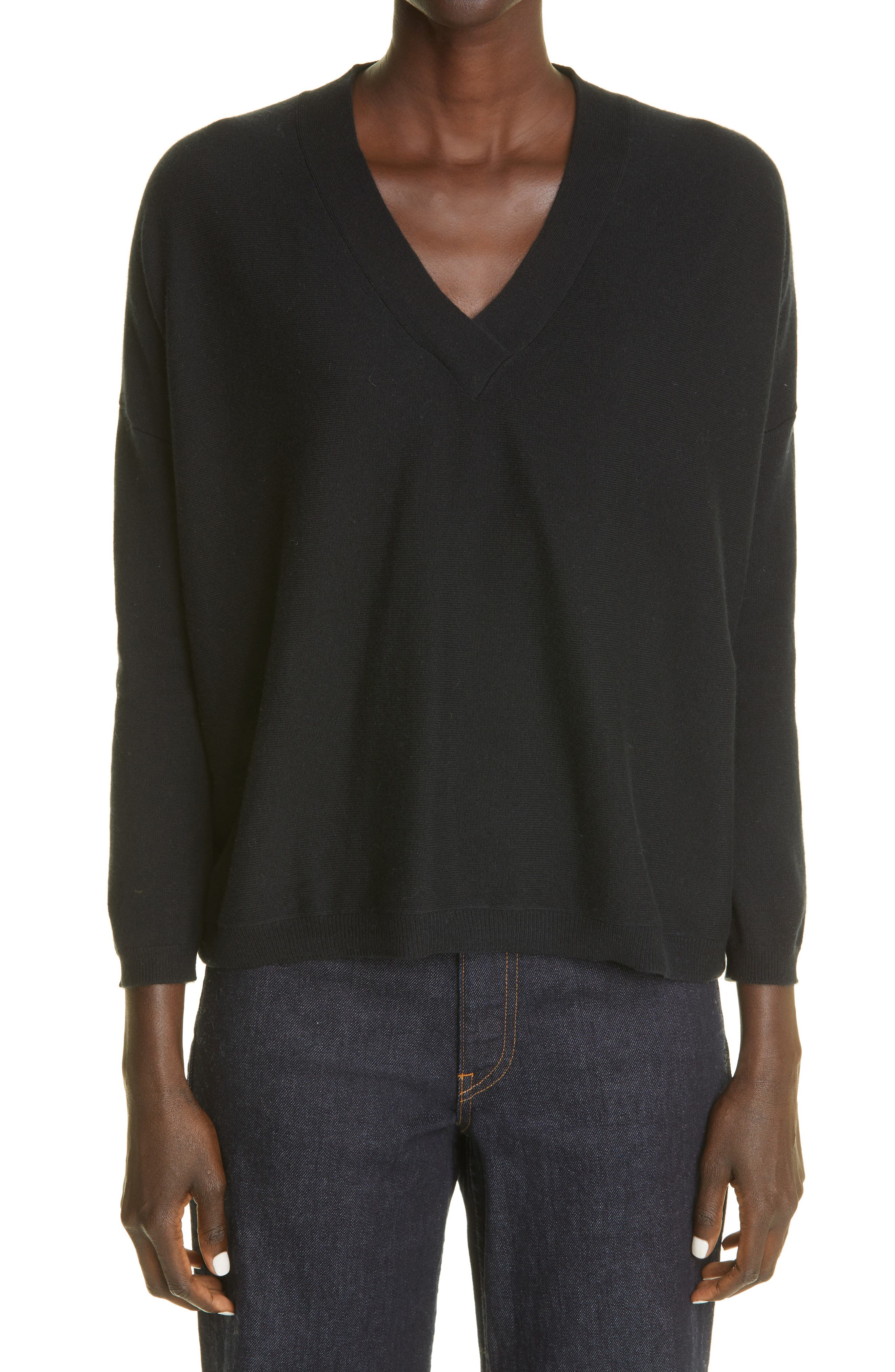 Bailey V-Neck Baby Cashmere Sweater