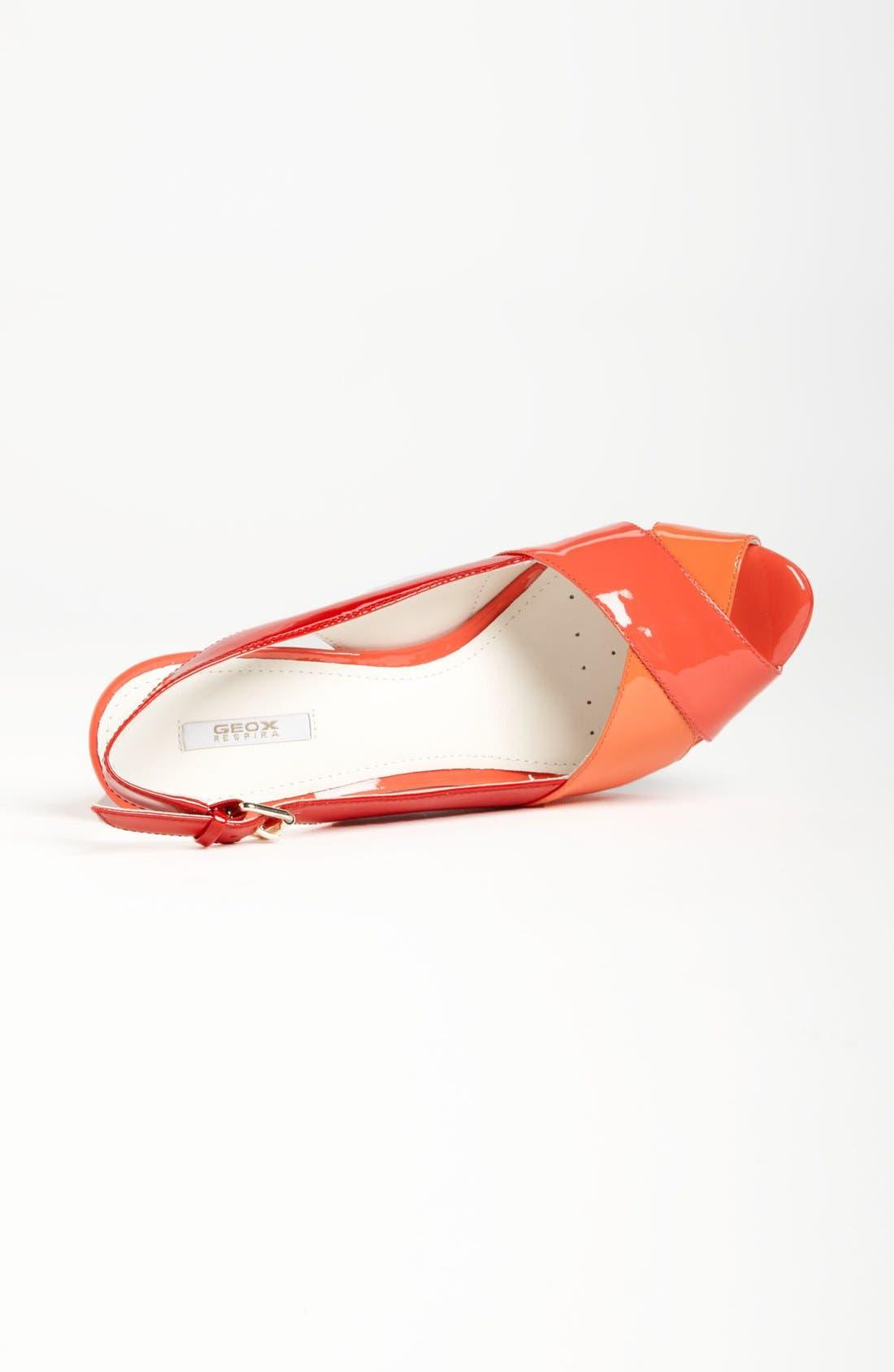 ,                             'New Egizia' Slingback Sandal,                             Alternate thumbnail 8, color,                             609
