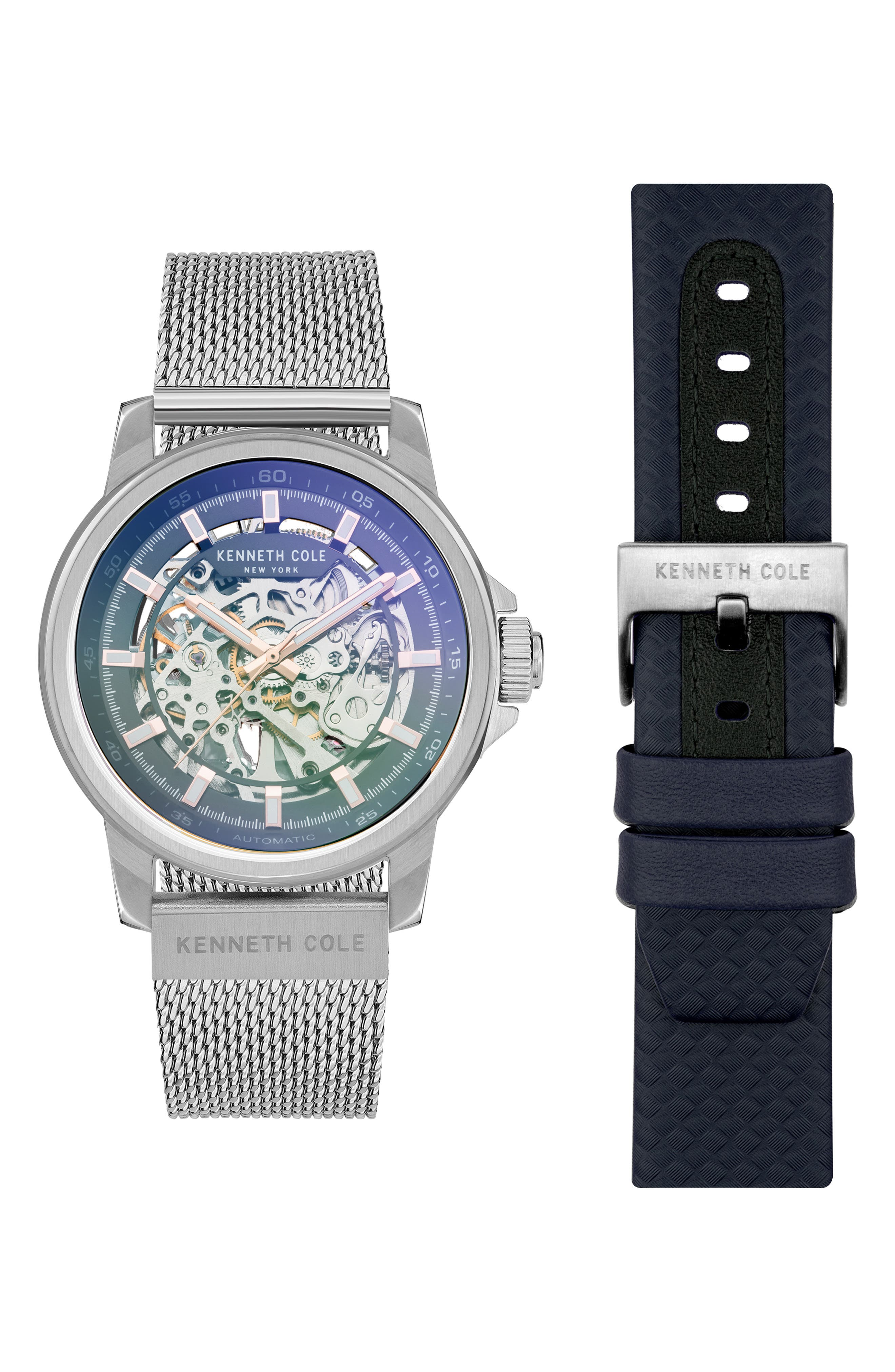 Skeleton Dual Band Automatic Watch