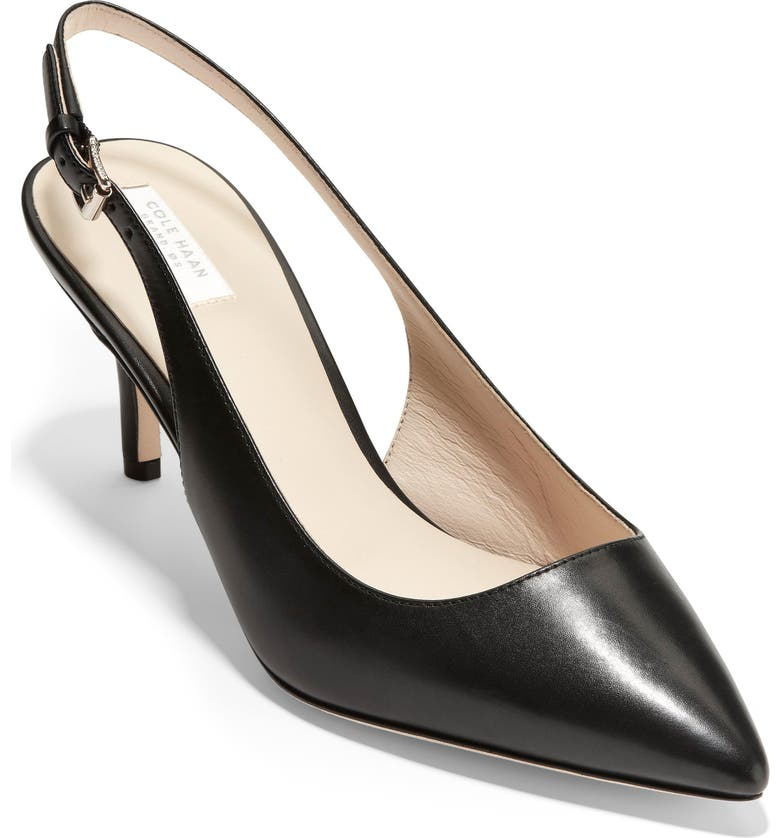 COLE HAAN Vesta Slingback Pump, Main, color, 001