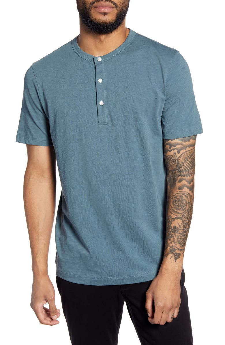 THEORY Cosmos Regular Fit Henley, Main, color, 396