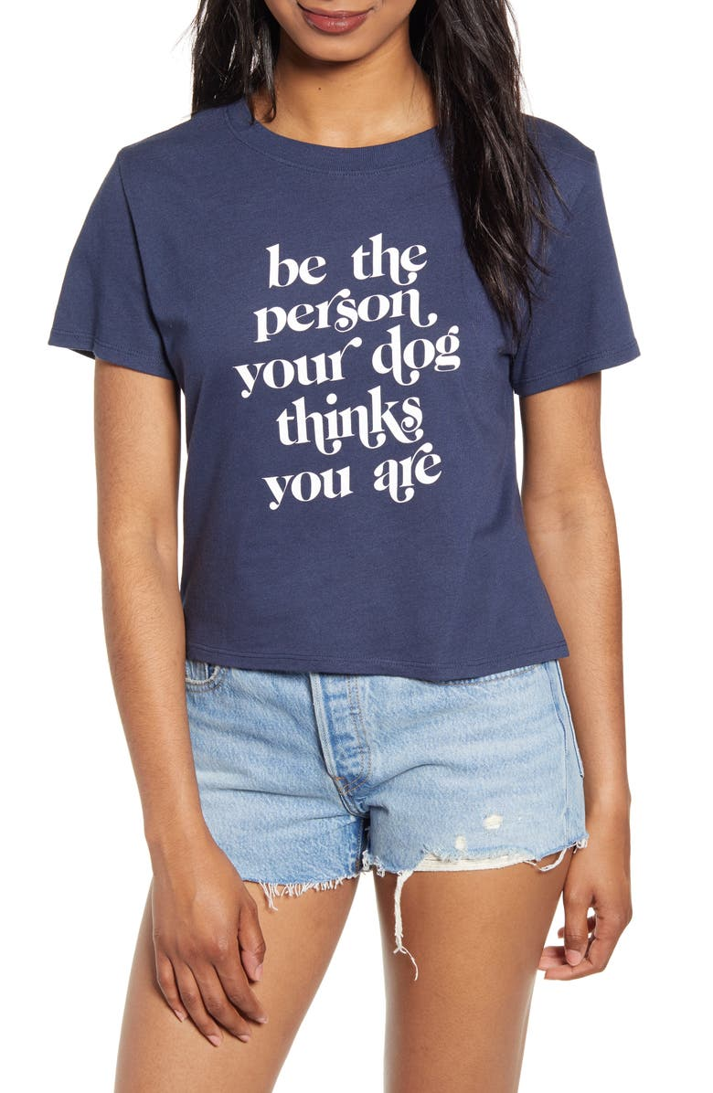 SUB_URBAN RIOT Be the Person Graphic Tee, Main, color, NAVY