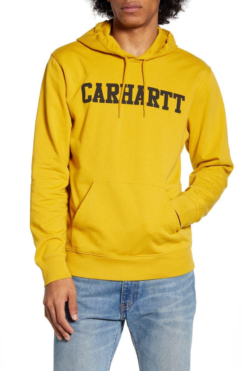 CARHARTT WORK IN PROGRESS Hooded College Sweatshirt, Main, color, 702