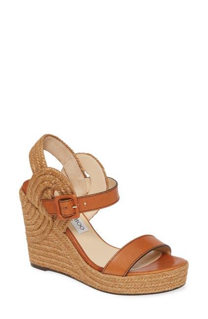 Image of Jimmy Choo Delphi Braided Wedge Sandal