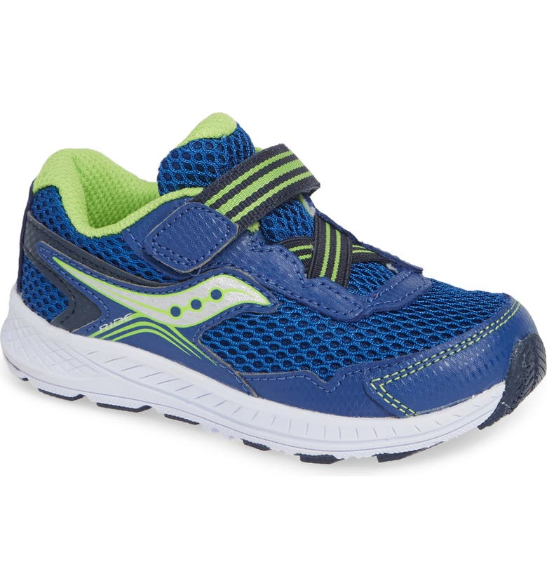 SAUCONY Ride 10 Jr Sneaker, Main, color, BLUE/ NAVY