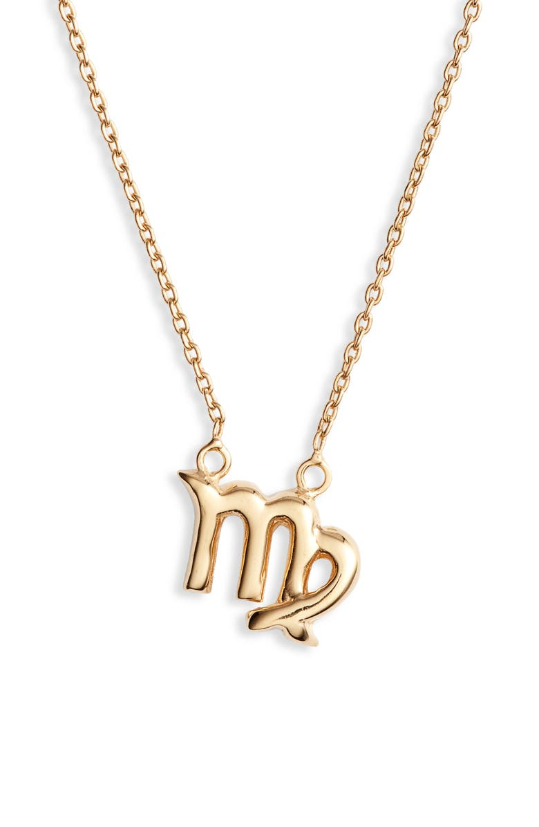 Zodiac Pendant Necklace by Sterling Forever