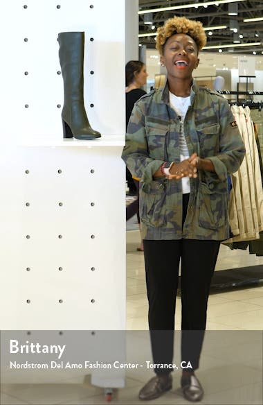 Justin Water Resistant Knee High Boot, sales video thumbnail