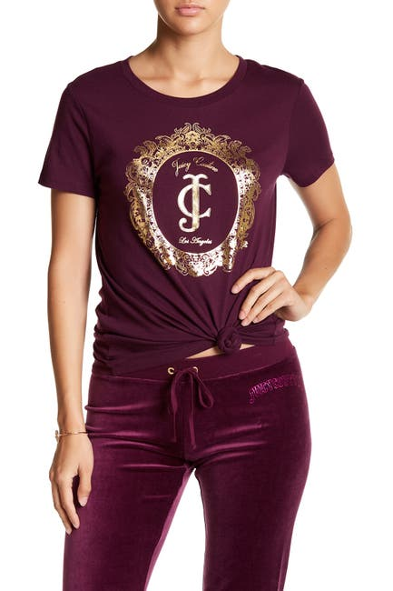 Image of Juicy Couture Framed Cameo Tee