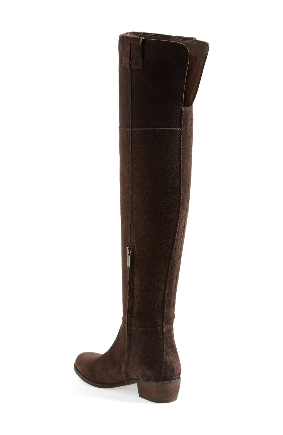 ,                             'Johanna' Over the Knee Suede Boot,                             Alternate thumbnail 9, color,                             200