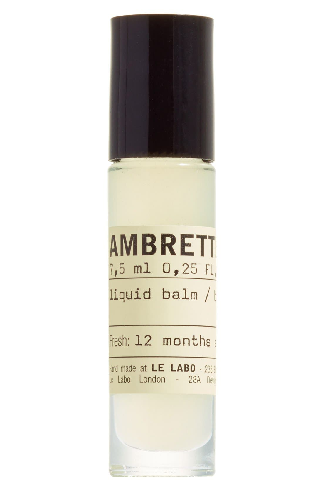 ,                             'Ambrette 9' Liquid Balm,                             Main thumbnail 1, color,                             000
