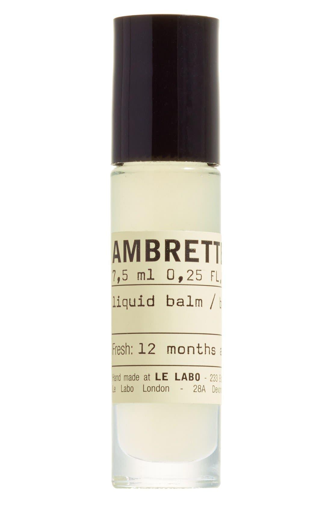'Ambrette 9' Liquid Balm, Main, color, 000