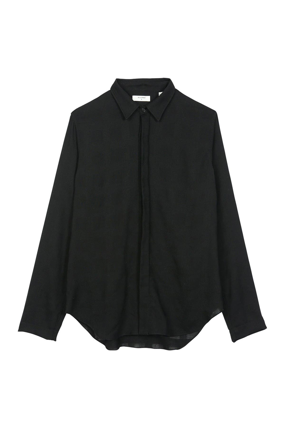 Image of Billy Reid Wool Blended Button Front Blouse