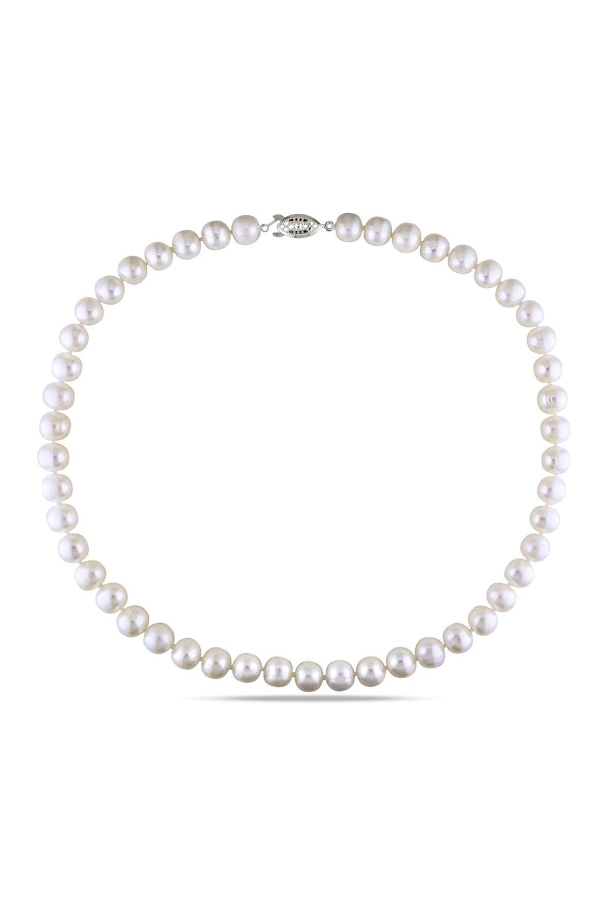 Image of Delmar 9-10mm White Pearl Necklace