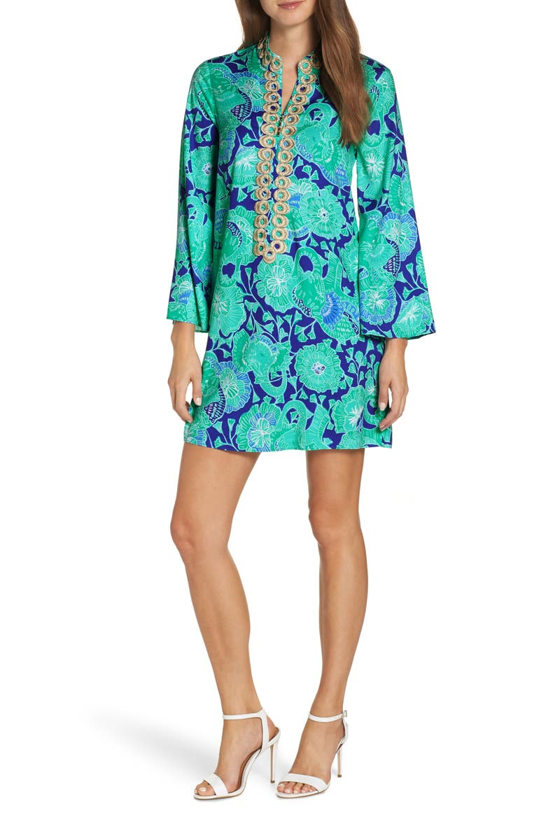 LILLY PULITZER<SUP>®</SUP> Gracelynn Stretch Shift Dress, Main, color, 410