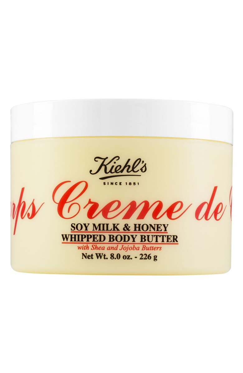 KIEHL'S SINCE 1851 'Creme de Corps' Soy Milk & Honey Whipped Body Butter, Main, color, NO COLOR