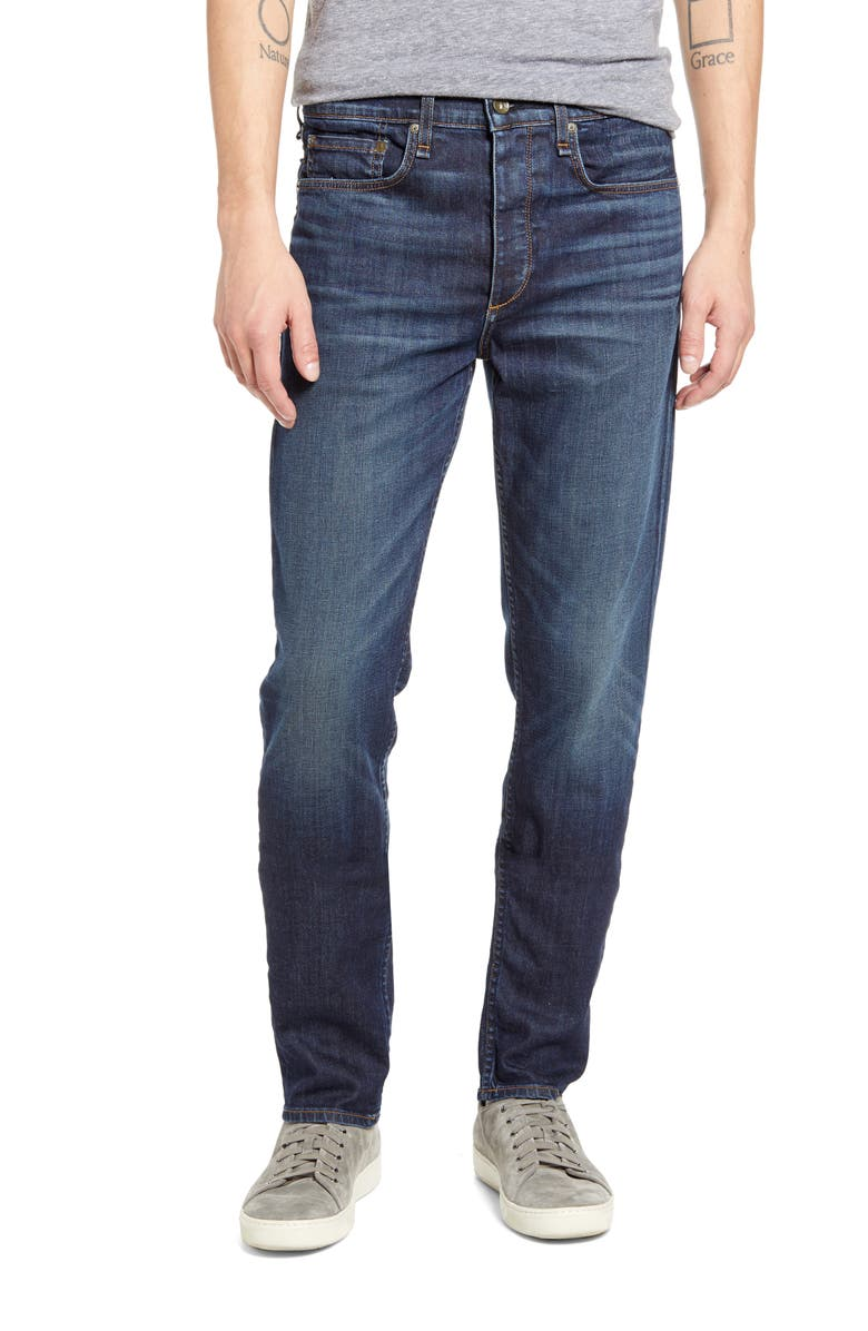 RAG & BONE Fit 3 Slim Straight Leg Jeans, Main, color, VALLEJO