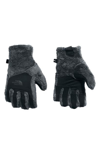 The North Face Osito E-tip Gloves In Asphalt Grey