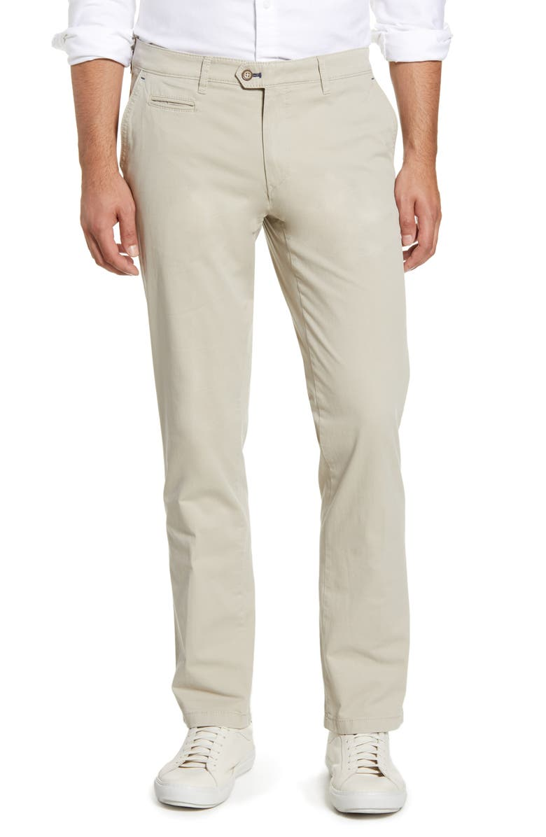 BRAX Everest Flat Front Chinos, Main, color, BEIGE