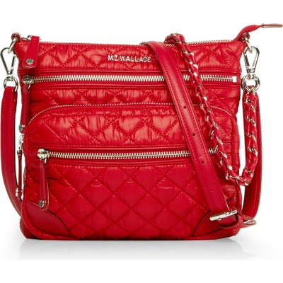 M Z Wallace Downtown Crosby Crossbody Bag - Red