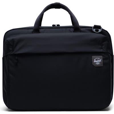 Herschel Supply Co. Britannia Trail Collection Convertible Messenger Bag - Black