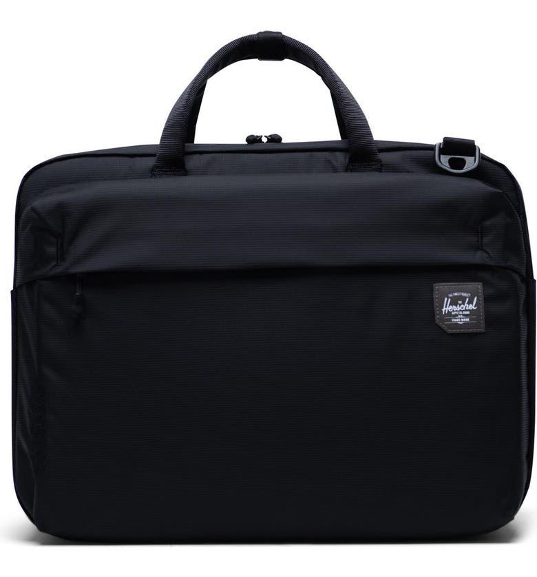 HERSCHEL SUPPLY CO. Britannia Trail Collection Convertible Messenger Bag, Main, color, 001