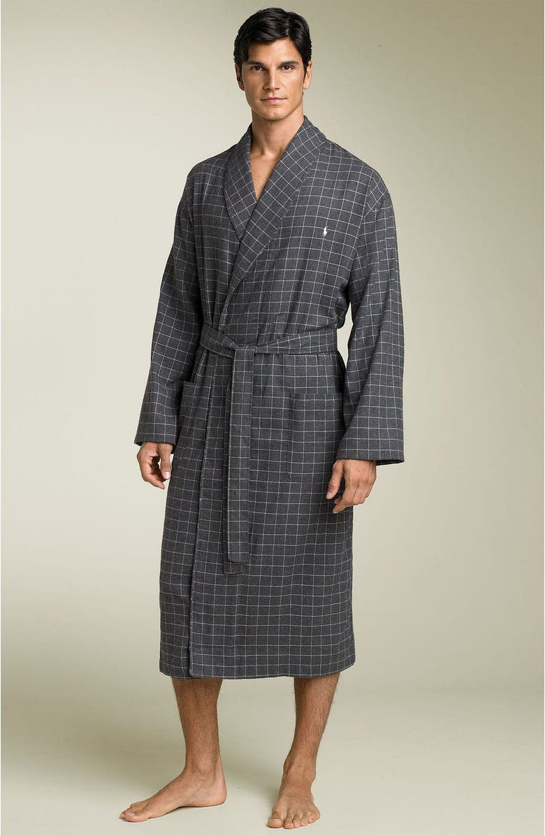 huge discount perfect quality top-rated fashion Plaid Flannel Robe