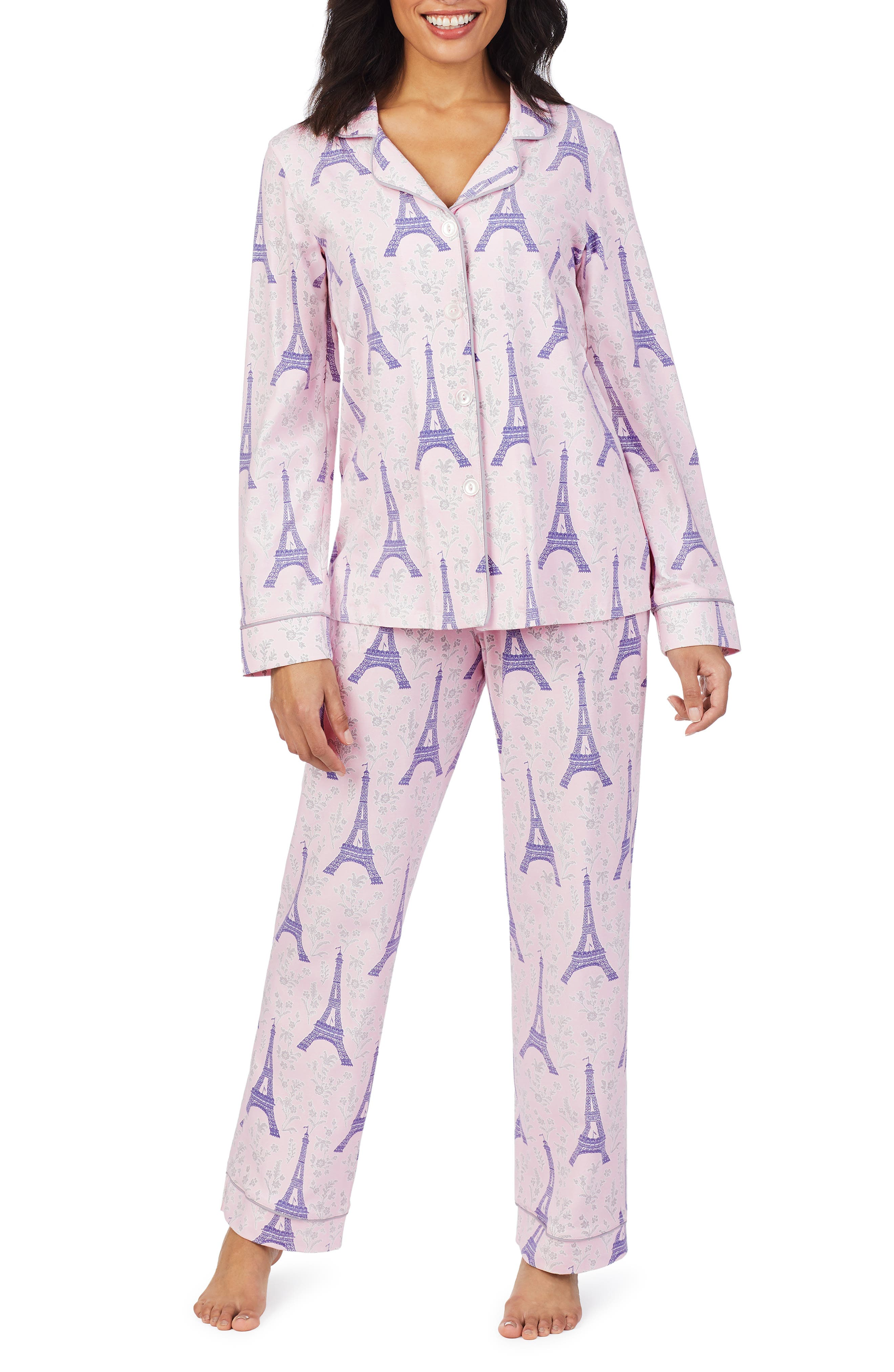 Women's Bedhead Print Knit Pajamas