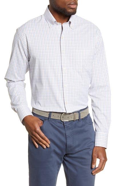 Image of Peter Millar Plaid Perfomance Woven Shirt