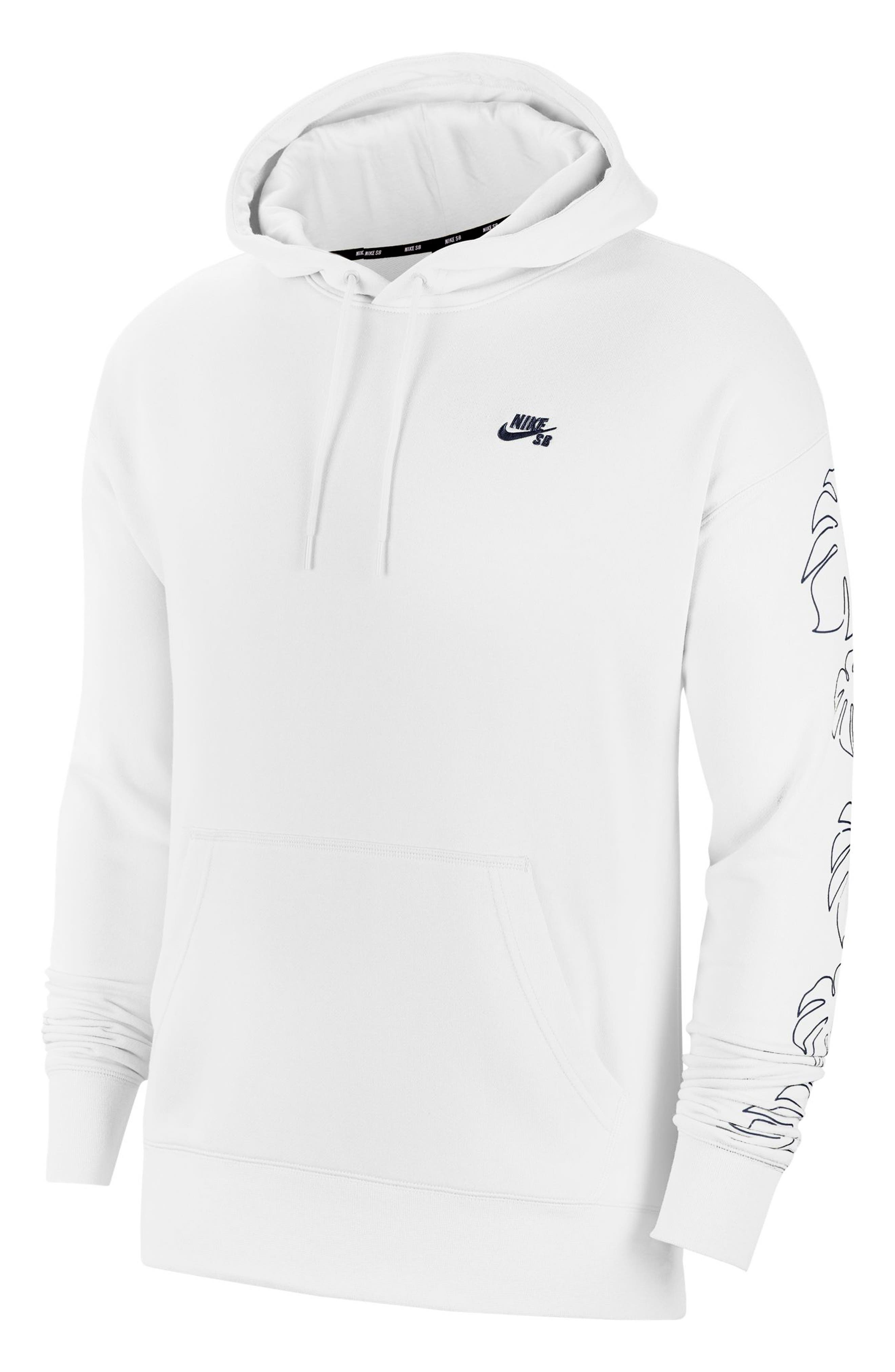 Give your sporty style a taste of the tropics with this French terry hoodie that combines a laid-back look with all-day comfort. Style Name: Nike Sb Paradise Gfx Hoodie. Style Number: 5957324. Available in stores.