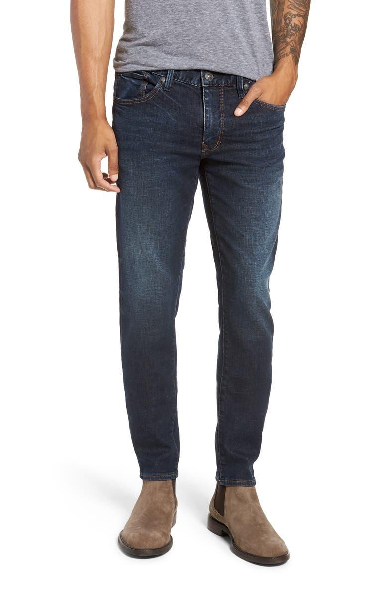 SILVER JEANS CO. Machray Straight Leg Jeans, Main, color, INDIGO